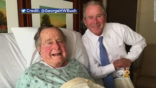George H.W. Bush Recovering In Hospital