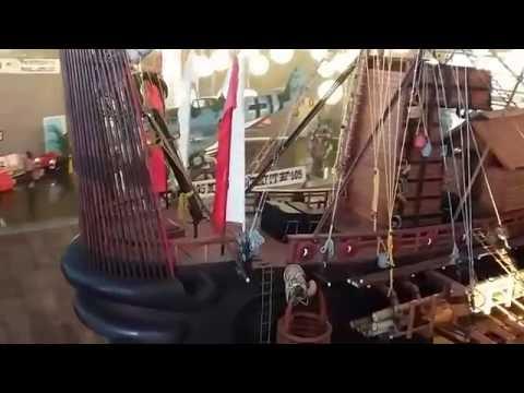 Kapal Majapahit - Majapahit Kingdom Ship Miniature