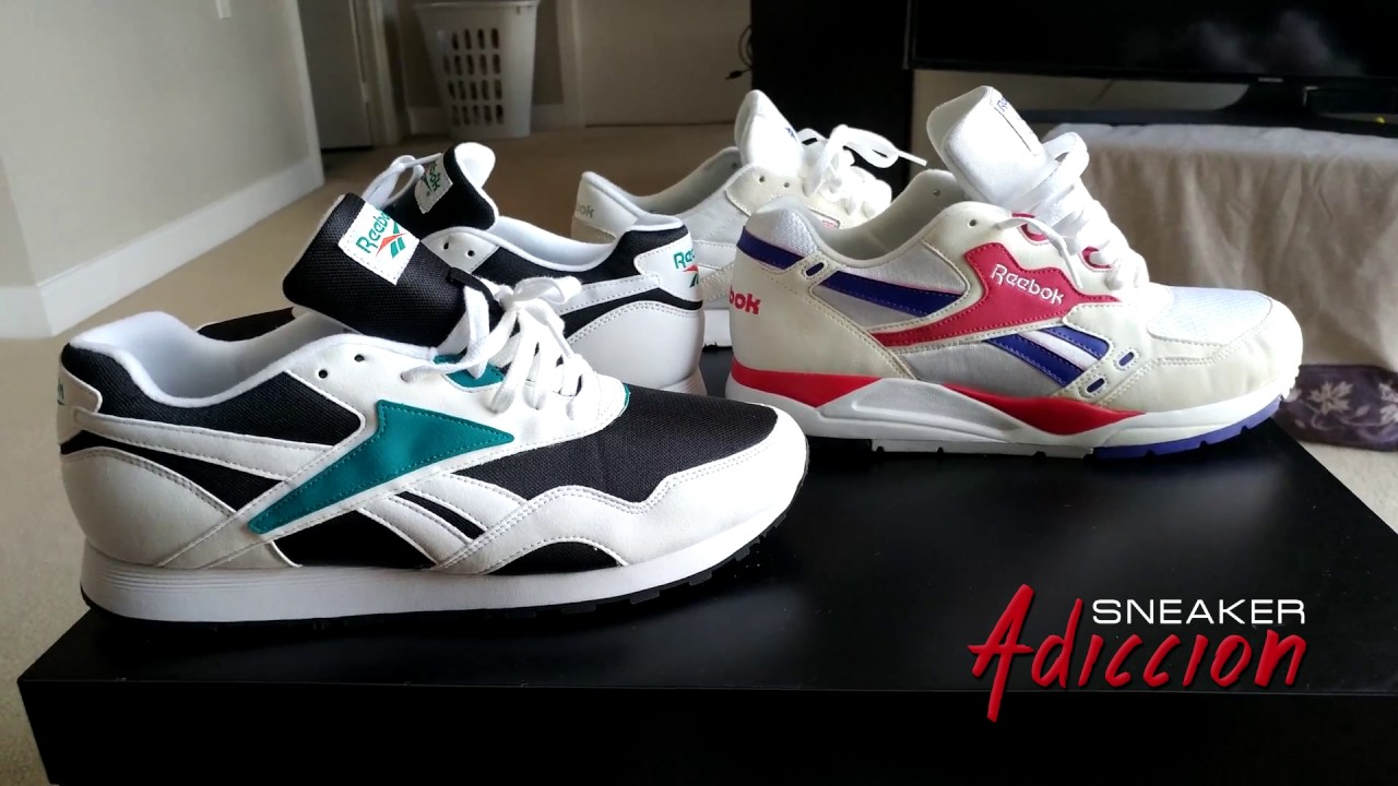 reputable site fe9e6 a7110 Reebok Rapide OG Unboxing with ReebokReppin