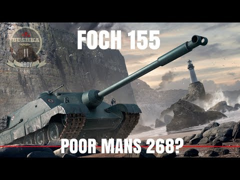 Foch 155 vs Obj 268 World of Tanks Blitz