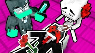 Monster School : RIP WITHER SKELETON  & WITHER SKELETON GIRL - Minecraft Animation