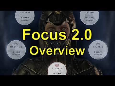 Warframe: Focus 2.0 Overview, Basic Guide