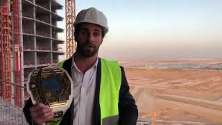 Seth Rollins at the Jeddah Tower - Upcoming world's tallest building