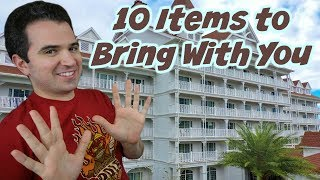 Top 10 Things you should always bring to Walt Disney World