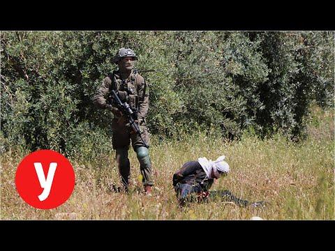 פלסטיני נפצע סמוך לבית לחם לאחר שנורה בירך מכוחות צה'ל