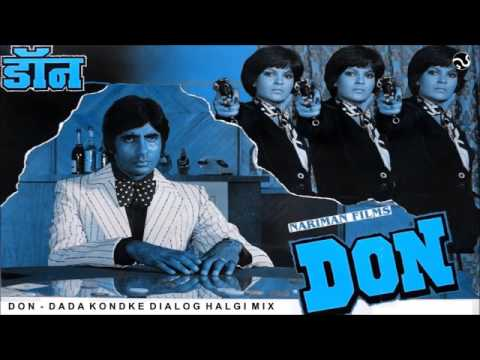 DON   HALGI MIX   DADA KONDAKE DIALOGUE MIX   FULL SONG   AB PRODUCTION