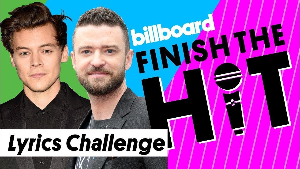 Download One Direction & *NSYNC - Boy Band Lyrics Challenge | Finish The Hit | Billboard