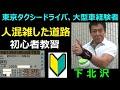 危険予知の運転練習 ~人混み中 / 下北沢、幡ヶ谷駅、永田町、自民党本部周辺 人を…