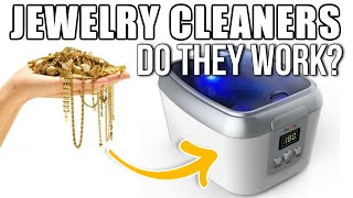 Jewelry Cleaner | Clean Gold, Silver, Eyeglasses, Coins, Dentures, DVD's