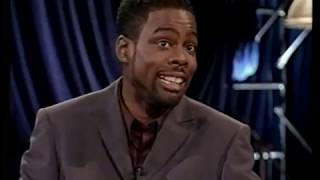COMEDIAN CHRIS ROCK WITH THE SEXY