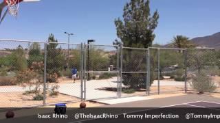 Jumping Fences Blacks VS Whites