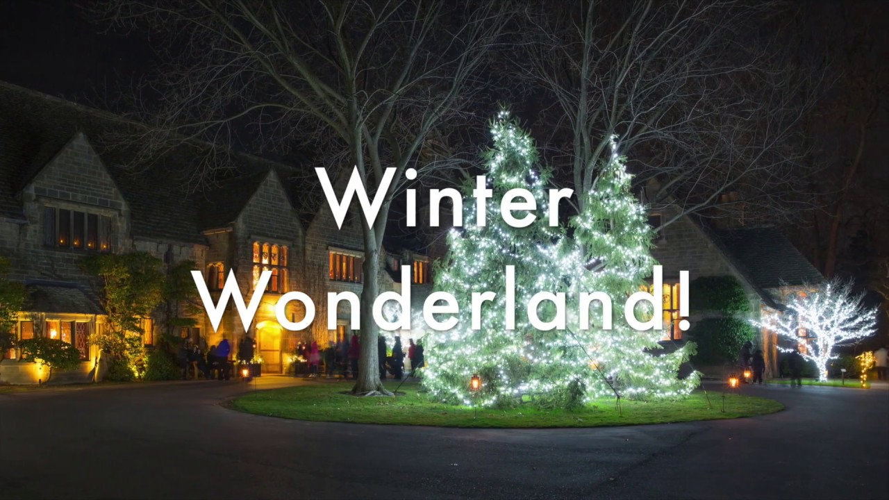 Winter Wonderland at Ford House - YouTube