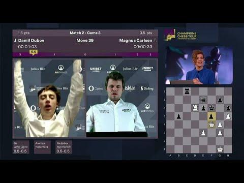 Dubov - Carlsen | Prendersi Gioco del Campione del Mondo di Scacchi - Mattoscacco