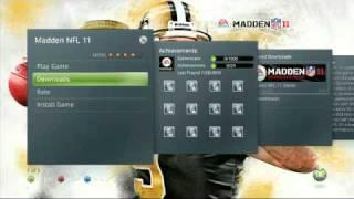 Madden NFL 11 Xbox 360 Installation Tutorial