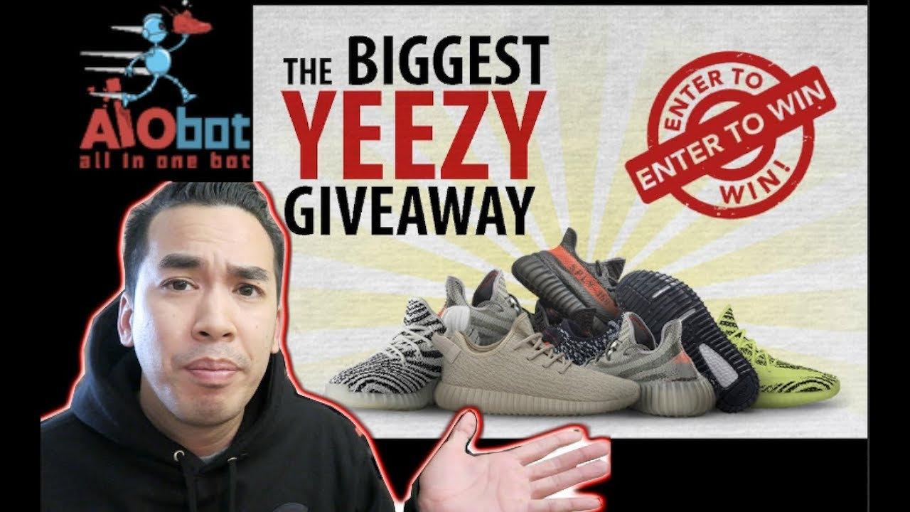 e0540a5511bb4 GIVEAWAY 11k WORTH YEEZY !!! MY SECRET TO COP YEEZY V2 FOR RETAIL ...