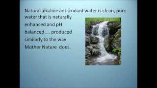 Alkaline Antioxidant Water Benefits Review 2014