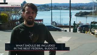 What should be included in the next federal budget? | OUTBURST