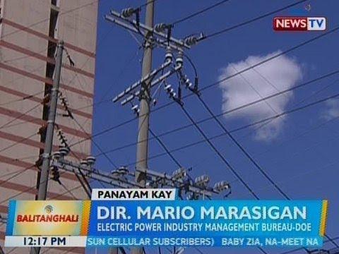 BT: Panayam kay Dir. Mario Marasigan, Electric Power Industry Management Bureau-DOE