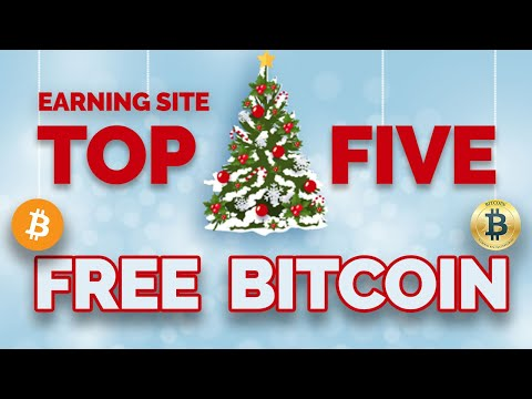 Best 5 Highest Paying Free Bitcoin Earning Site 2021