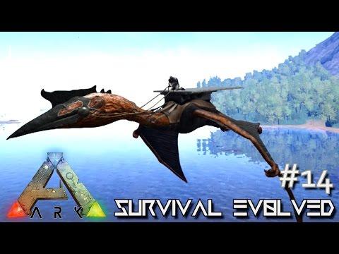 ARK: Survival Evolved - QUETZALCOATLUS LVL 100+ TAMING & TESTING - [Ep 14] (Server Gameplay)
