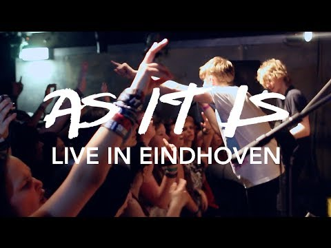 AS IT IS - Can't Save Myself (Live in Eindhoven)