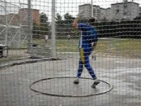 David Arnaiz hammer throw - YouTube Hammer Throw Technique
