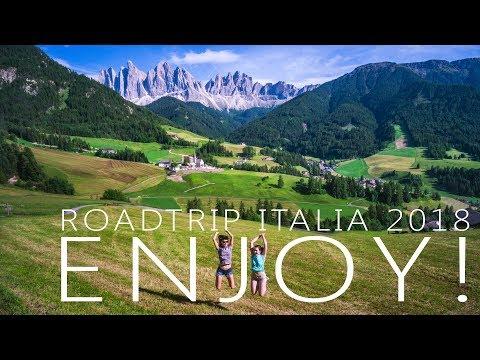 Enjoy! - Roadtrip Italia 2018