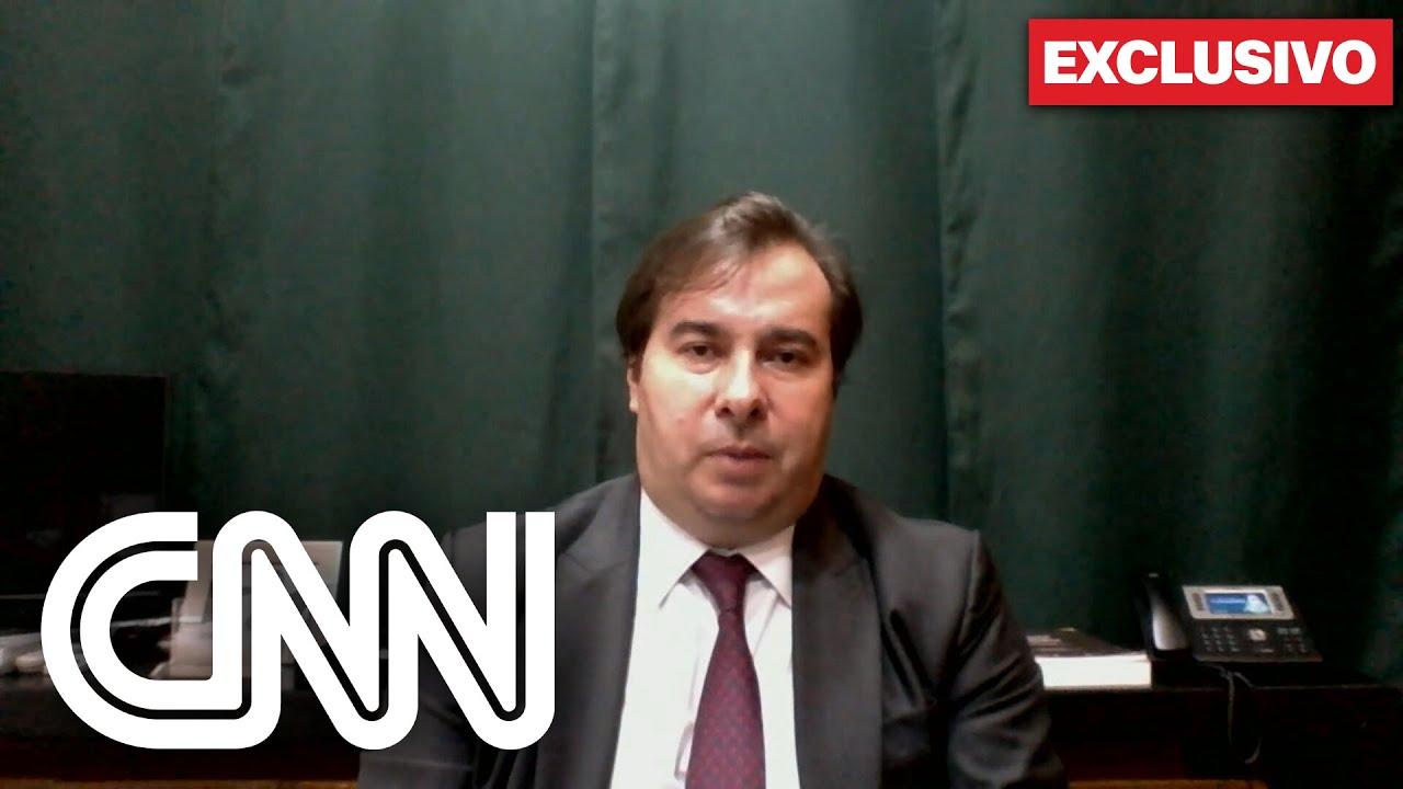 Exclusivo: Rodrigo Maia avalia cenário político e lei das fake news