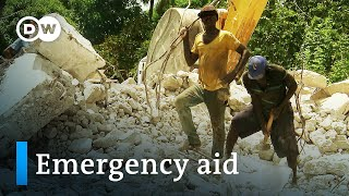Help after the earthquake in Haiti