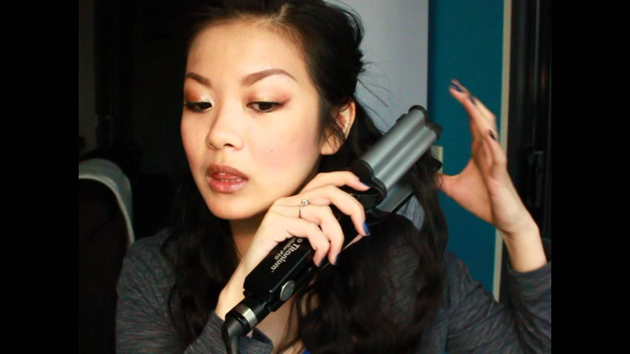 a3e56c4d2 BaByLiss Pro Nano Titanium Deep Waver Review - YouTube