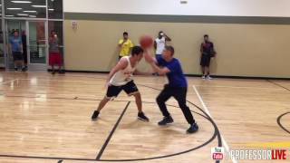 Guy Challenges The Professor at an LA Fitness