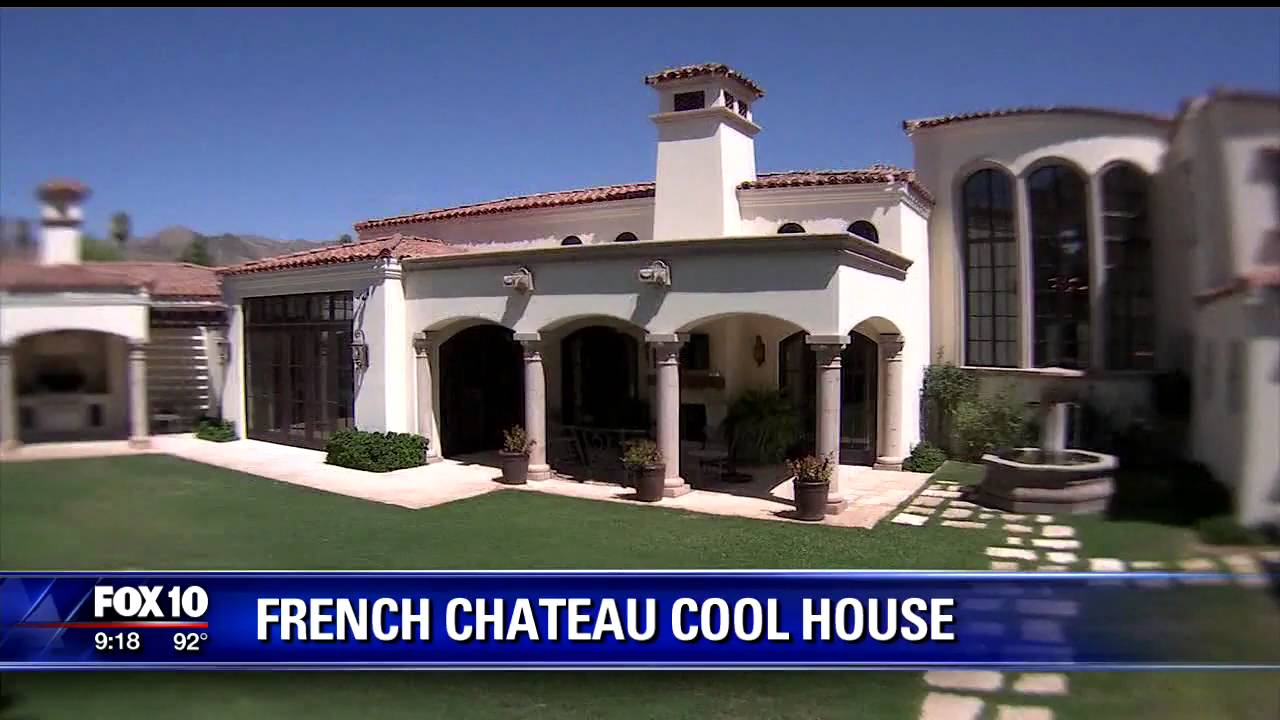 cool french country style home in the arizona desert youtube