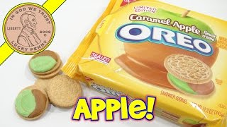 Oreo Caramel Apple Nabisco Limited Edition Cookies!