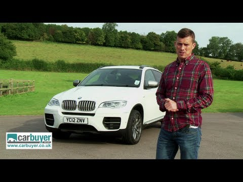 BMW X6 SUV review - CarBuyer