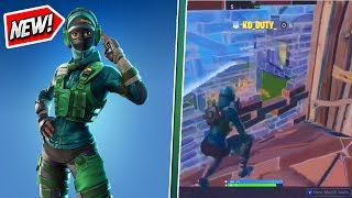 The UNRELEASED Instinct Skin IN-GAME! Instinct Skin Gameplay! (Fortnite)