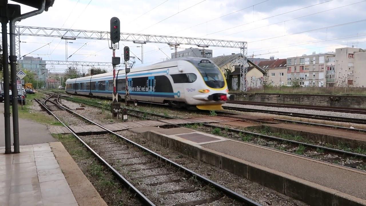 Trains At Zagreb Zapadni Kolodvor 4 April 2019 Youtube