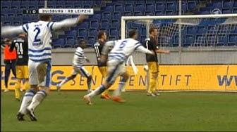 MSV Duisburg - RB Leipzig 2:1 Highlights ARD 01.02.2014