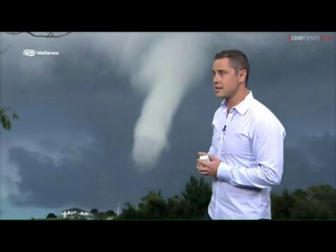 News Anchors Can't Stop Laughing At A Penis Shaped Waterspout!