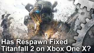 [4K] Has Respawn Fixed Titanfall 2 on Xbox One X? New PS4 Pro + PC Graphics Comparisons!