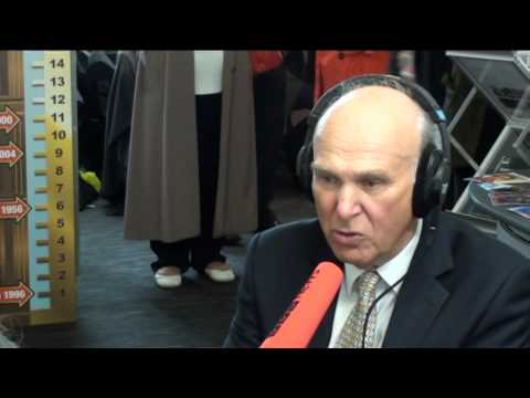 Vince Cable interviewed by Martha Kearney on The World at One
