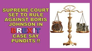 Supreme Court Poised to Deliver Brexit Bombshell!