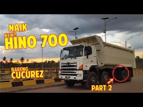[EKSKLUSIF] Mengendarai Dan Melihat Kabin HINO 700 Profia 8x4 Bareng CUCUREZ | PART 2