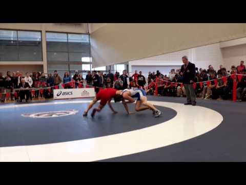 2015 Senior National Championships: 57 kg Roland Yong vs. Brian Cowan