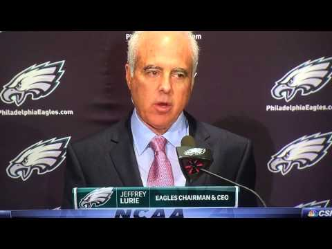 Eagles Owner Jeffrey Lurie Sends Chip Kelly A Direct Shot with this Statement