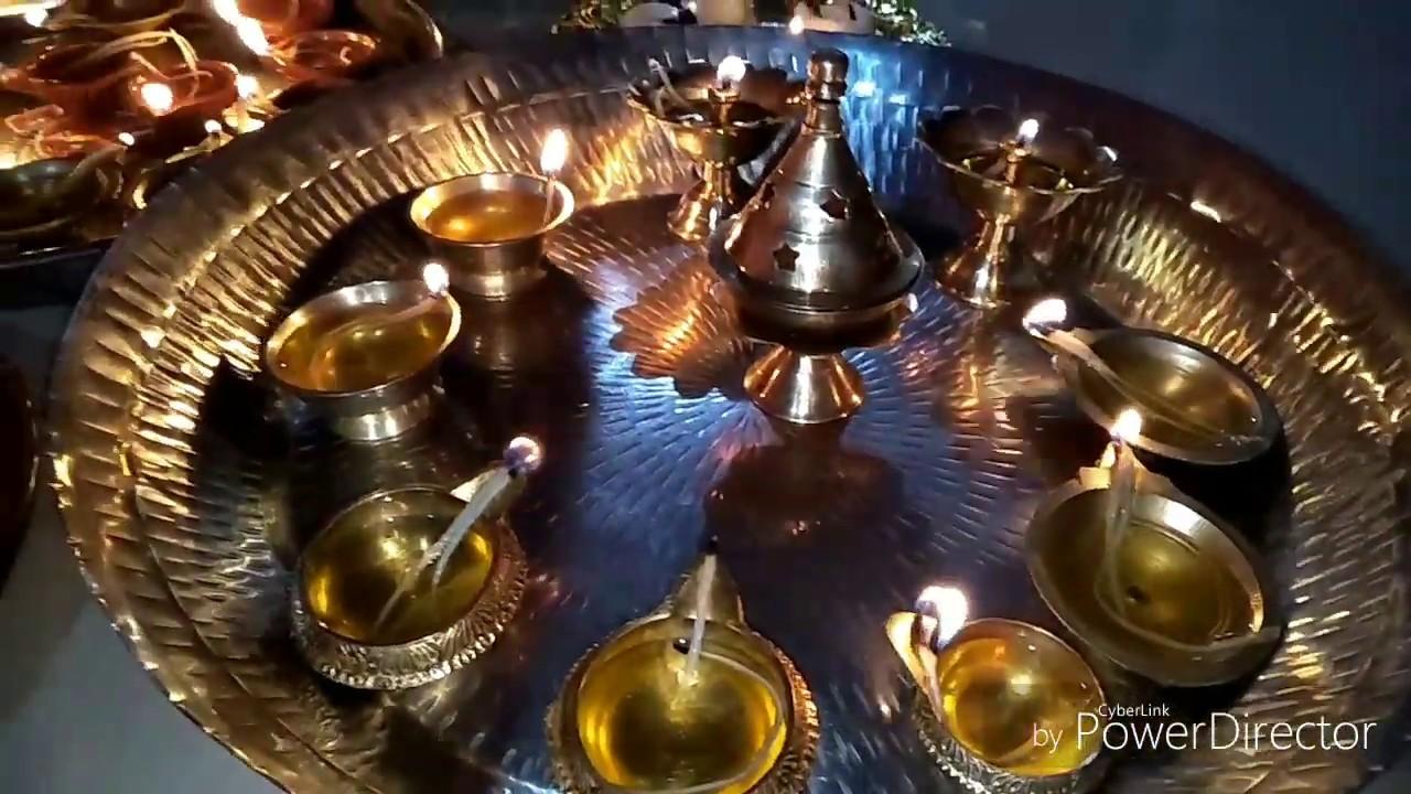 எங்கள் வீட்டு கார்த்திகை தீபம்   Sharing our Karthigai ...