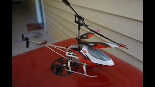 Flying The Toyrus RC Helicopter Outside