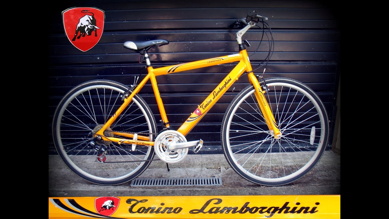 Mens Tonino Lamborghini Hybrid Cruiser Bike Bicycle