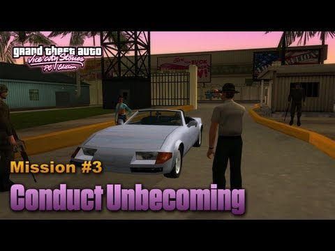 GTA Vice City Stories PC Edition - Mission #3 - Conduct Unbecoming