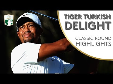 Tiger Woods shoots 63 at 2013 Turkish Airlines Open | Classic Round Highlights