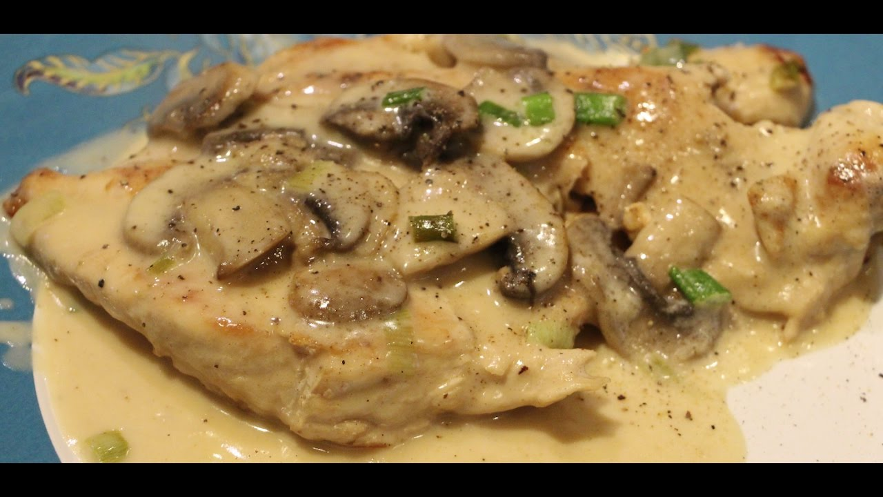 Perfect Chicken Scallopini With Mushrooms Recipe Simple And Easy Cheryls Home Cooking Episode 543 Youtube